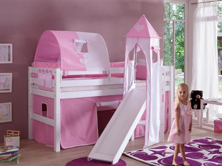 UNA - visoki krevet sa toboganom