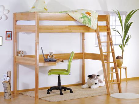 IRIS - visoki krevet  sa stolom